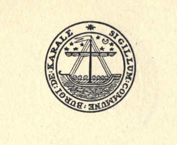 Burgh Seal from Porteous 1906
